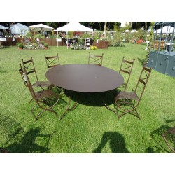 TABLE OVALE