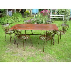 TABLE RECTANGLE PIED FIXE